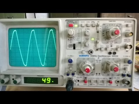 CRO Cathode ray oscilloscope