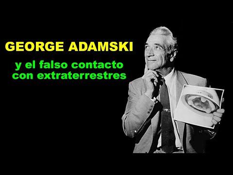 GEORGE ADAMSKI  y el falso contacto con extraterrestres
