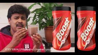 വിട്ടില് BOOST ഉണ്ടാക്കാം ഈസിയായി || HOME MADE BOOST RECIPE  -JOY VAYALUNKAL thumbnail
