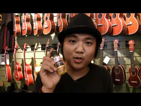 Uke Minutes 134- How To Clean Your Fretboard
