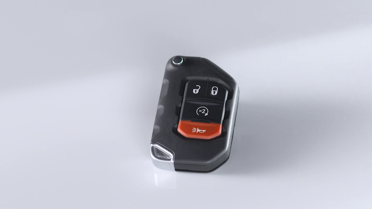 Keyless Enter N Go Key Fob Programming For Power Locks In 2018 Jeep Wrangler Youtube