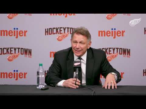 Ken Holland | Locker Clean Out | 4/8