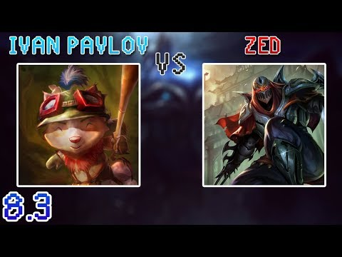 iPav's Teemo vs Zed - Diamond 1 - Top Lane