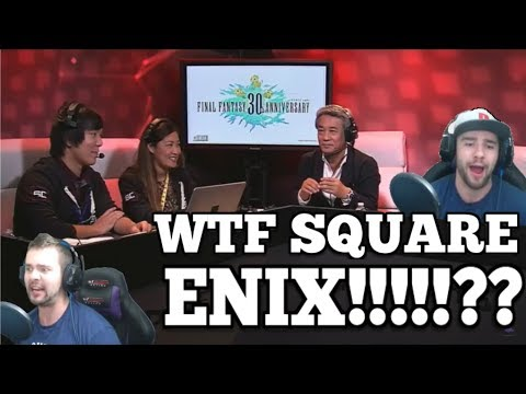 Final Fantasy 30th Anniversary RAGE!!! Square Enix officially host the WORST E3 2017 event!