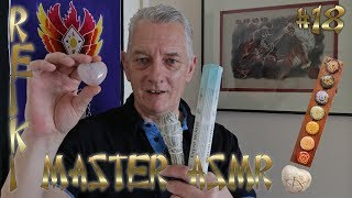 Reiki ASMR Crystal Chakra Cleansing & Aura Smudging Session #18 - Relaxing & Calming