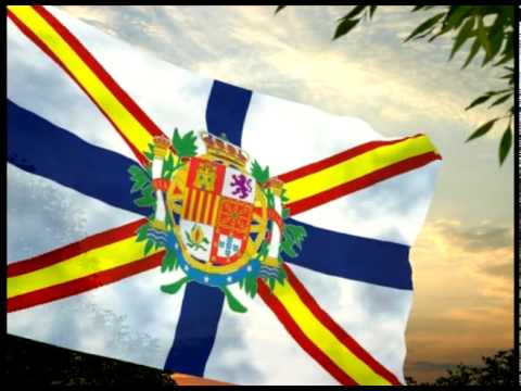 Hispania / Iberia (*Fictitious state/Estado ficticio) (Monarchic flag 3 / Bandera monárquica 3)