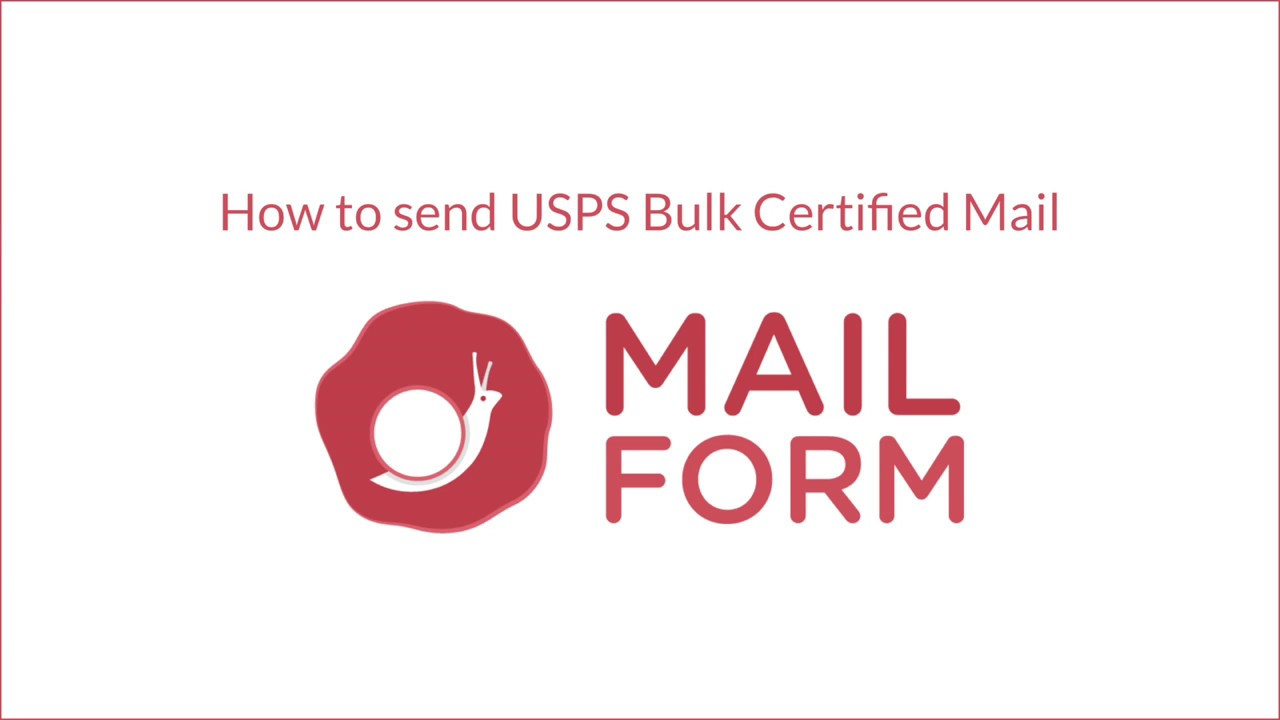 How To Find Out Who Sent A Certified Letter.How To Send Bulk Certified Mail