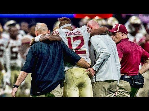 FSU quarterback Deondre Francois injured against Alabama