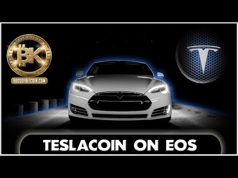 Tesla's Autonomous Car on The Blockchain!! 🚗✨ Electric Crypto Car of The Future
