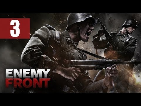 "Enemy Front - Let's Play - Part 3 - [French Resistance] - ""Boss Sniping"""
