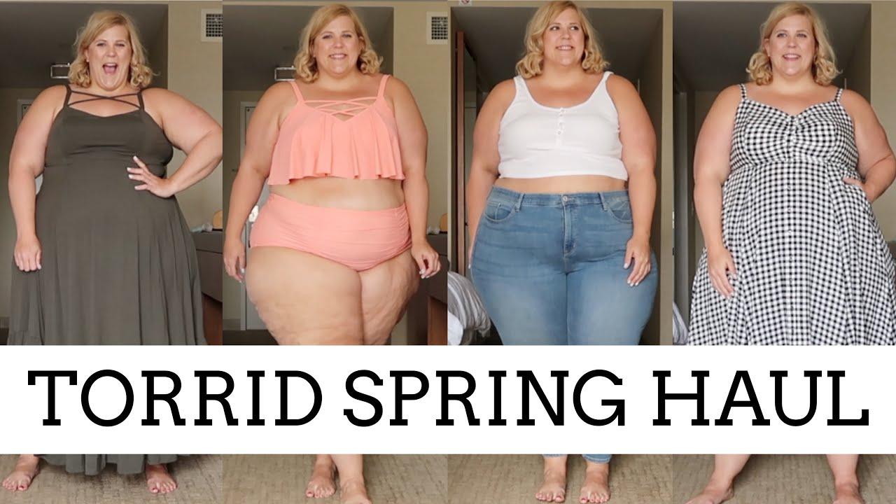 ed4e7e72771 Torrid Spring Plus Size Haul - YouTube