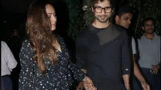 Shahid Kapoor and Mira Rajput Spotted at Soho House Restaurant