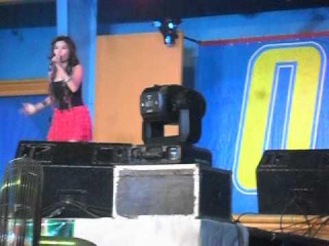 katrina velarde singing LISTEN in balayan, batangas