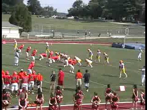 Calvert Hall vs McDonogh Football 2008 (Rudy Johnson)