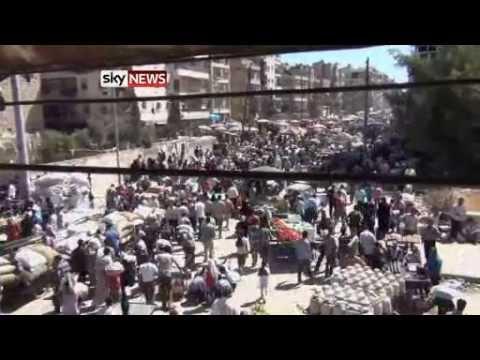 Syria, Aleppo: Life Goes On Despite Violence