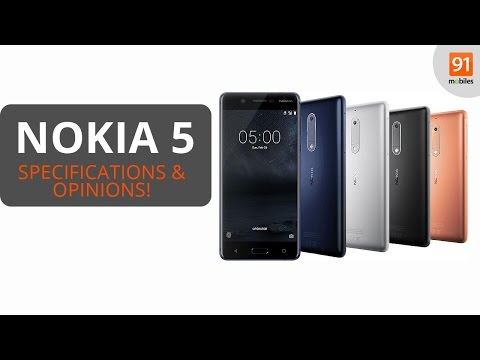Nokia 5: Review of Specifications + Opinions!