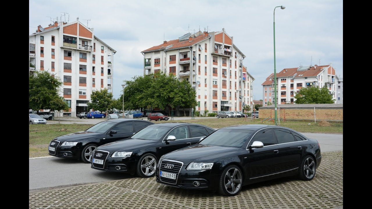 audi a6 c6 meet sremska mitrovica 2015 youtube. Black Bedroom Furniture Sets. Home Design Ideas