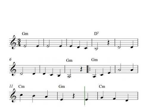 Free Easy Clarinet Sheet Music | Tumbalalaika
