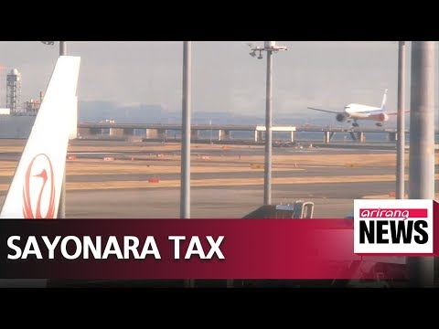 Japan to introduce new departure tax from 2019