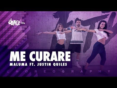Me Curare - Maluma ft. Justin Quiles | FitDance Life (Coreografía) Dance Video