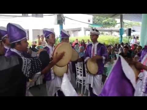La Obe Kompang Performance by Zunnur #HnRWeds
