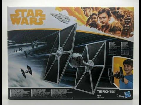 Star Wars Legion Tie Fighter Toy Hasbro Solo Film  Comparaison
