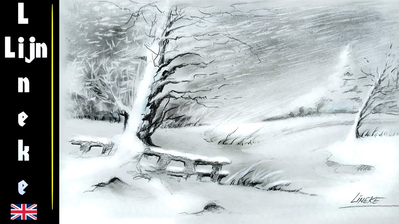 How to draw snow 63