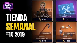 #10 2019 WEEKLY EVENT STORE ? GUERRERA ALTAS LANDS SALVAGE GATA ? FORTNITE SAVE THE WORLD