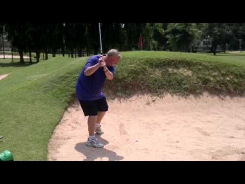 8th Hole Jim Brown Hell Bunker Asia Pattaya Golf Course