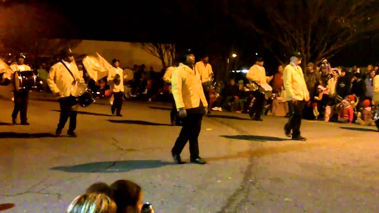 Senior Citizen Marching Band at the 2010 Mebane Christmas Parade ...