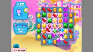 Candy Crush SODA SAGA level 166 BUBBLEGUM