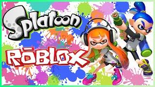 Roblox 35- Splatoon Roblox!!! (Commentary)