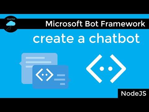 Microsoft Bot Framework Tutorial & Azure Bot Service Intro | Create A Chatbot