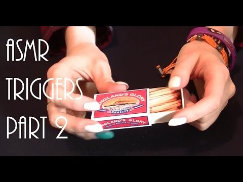 ASMR Triggers Extravaganza! Part 2 (Ear to Ear) ~Cards, Matches, Pencils and Paper~
