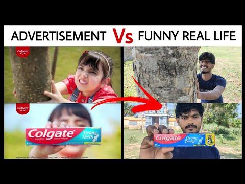 Colgate Advertisement Troll