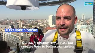 High flying dining in Brussels adapts amid Covid pandemic