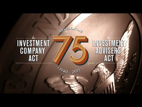 Celebrating 75 years of the Investment Company Act and the Investment Advisers Act
