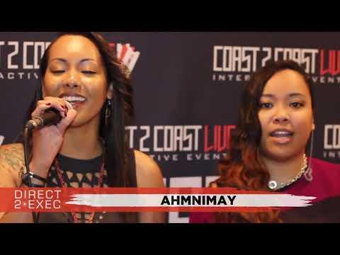 AhmniMay Performs at Direct 2 Exec Denver 4/20/18 -  Warner Music Group