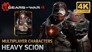Gears of War 4 - Multiplayer Characters: Heavy Scion