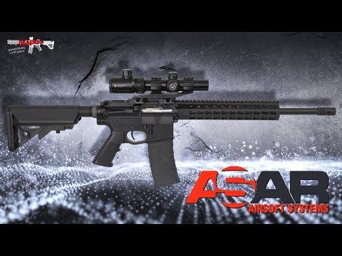 [Review] Airsoft Systems ASAR-15 (ASCU, Split-Gearbox, Mosfet, FSWS) 6mm Softair (German,DE)