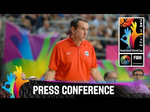 Slovenia v USA - Post Game Press Conference - 2014 FIBA Basketball World Cup