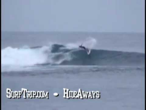 Bill Surfing WavePark Mentawai 2005