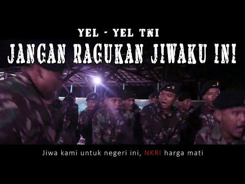 Yel Yel TNI  - Jangan Ragukan Jiwaku Ini (Lyric Video)