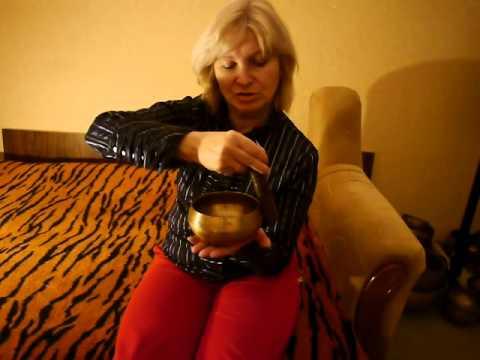 Лечение тибетскими поющими чашами