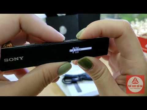 Hướng Dẫn Sử Dụng Máy Ghi Âm Sony ICD TX650, Tầm Giá 2,6 Triệu- 3 Triệu