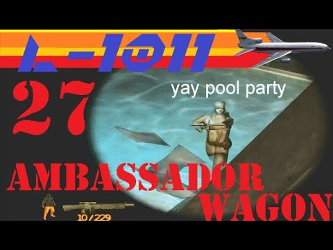 Let's Play Iron Storm Part 27 - Ambassador Wagon |