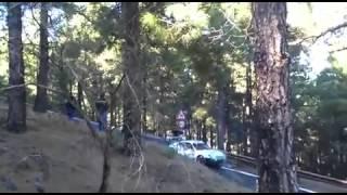 Accidente de los hermanos Vallejo /Rally el corte ingles 2015