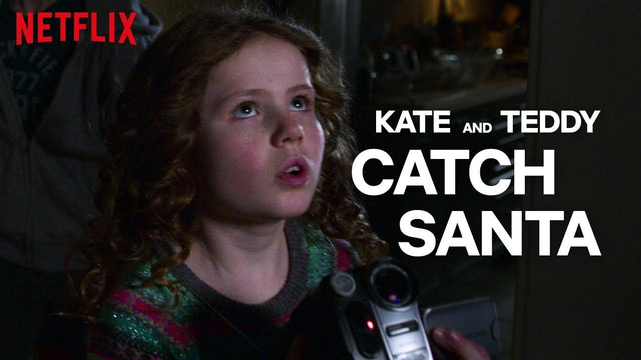 The Christmas Chronicles Santa.The Christmas Chronicles Kate And Teddy Catch Santa Netflix