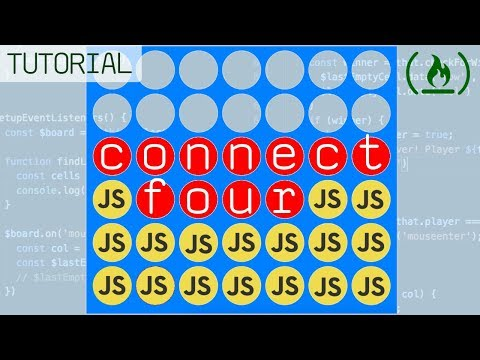 Connect Four With Javascript & JQuery - Tutorial