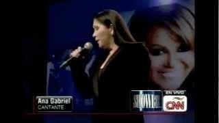 Jenni Rivera Homenaje Postumo Ana Gabriel Paloma Negra